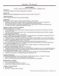 Entry Level Nursing Resume Rn Registered Nurse Mhidglobal Org