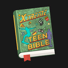 Extreme teen bible green