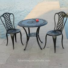 Cast Iron Patio Furniture Garden Metal Chairs Outdoor Table