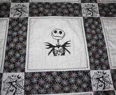 This Quilt Could Be Yours ~ a Nightmare Before Christmas themed ... & Nightmare Before Christmas Lap Quilt Adamdwight.com