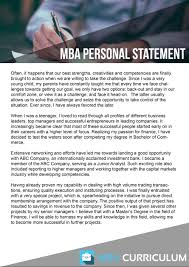 Secrets Of Personal Statement For Mba Application Why Mba