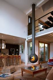 Hanging And Suspended FireplacesFloating Fireplace