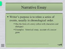 elements of non fiction ppt 12 narrative essay writer s purpose