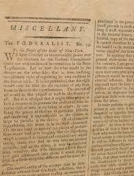 alexander hamilton federalist essays in the new york packet federalist essays in the new york packet
