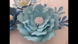Large Paper Flower Pattern