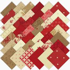 Moda Fabric Designers Midwinter Reds From Moda Fabrics Arriving