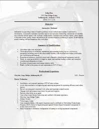 Tradesman Resume Template Skilled Labor Trades Resume