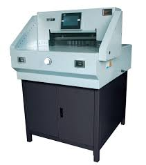 China 520mm 20inch Program control Electric Paper cutter <b>E520T</b> ...