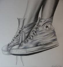 converse shoes drawing. sketches boots drawing | old converse by realisticfantasy on deviantart shoes