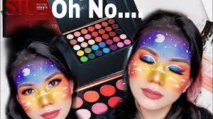 <b>Beauty Glazed 35 Colors</b> Studio Palette Review & Sunset Tutorial ...