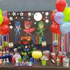 Pj Mask Party Decoration Ideas Pj Masks Party Ideas for a Boy Birthday Catch My Party 11