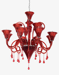 red ceiling lamp lamp clipart red chandelier red crystal chandelier png image and