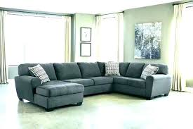 light grey leather sectional sofa dark gray lighting licious couch