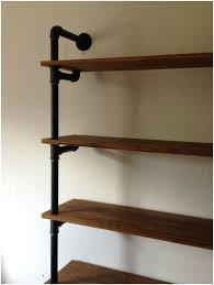 wall shelves with brackets wall mounted shelf brackets india