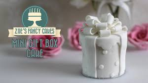 wedding favour cakes. Wedding gift cakes fondant wedding favour ideas YouTube