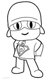 Small Picture Free to Download Pocoyo Coloring Pages 13 On Coloring Books with