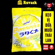 GÓI VÀNG] Kẹo Ngậm Dứa Muối Thái Lan Hartbeat Gói 120g - Bánh Kẹo Đồ Ăn Vặt  Nội Địa Thái Lan Giá Rẻ - Ruvask tại TP. Hồ Chí Minh