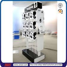 Metal Display Racks And Stands TSDM100 custom retail shop floor standing product hook metal 36