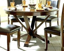 dark wood round dining table casual deep cherry decorating ideas for white cha