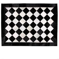 posh large diamond pattern black along with checkerboard rug decor and white rugs area ideas carpet