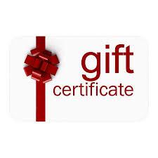 Gift Certificates Keith Plutchok Golf