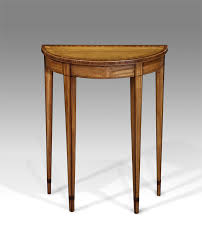 small antique console table