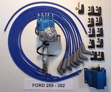 ford distributor cap ford 289 302 blue small cap hei distributor blue coil universal spark plug