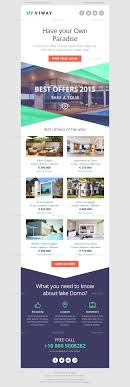 Real Estate Newsletter Template Viway Bundle Multipurpose E Newsletter Psd Templates By Coverry Real 1