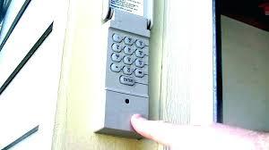genie garage door keypad reset how to reprogram genie garage door keypad genie garage door opener