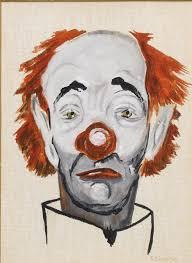 5x7aclown jpg clown painting by frank