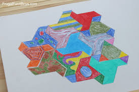 Express yourself and have fun with these adults coloring i'm not really a fan of tessellation coloring pages. Print And Color Tessellation Puzzles For Kids Frugal Fun For Boys And Girls