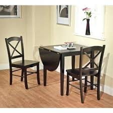 two chair dining table set black 3 piece country cottage dining set table and 2 two