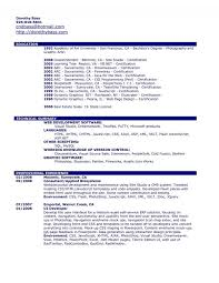 Resume Builder Mac Free Resume Examples College Students Little