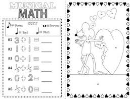 Small Picture Music Coloring Pages Valentines Day by Emily Conroy TpT