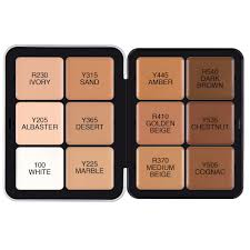 ultra hd invisible cover cream foundation palette make up for ever sephora
