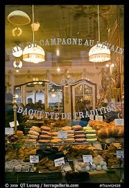 Picturephoto Pastries In Bakery Storefront Paris France