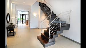Stainless Steel Staircase Design Kerala Railing Design For Staircase Modern Decor Ideas Spiral Steel House Rcc Minecraft Etabs Diy 2018