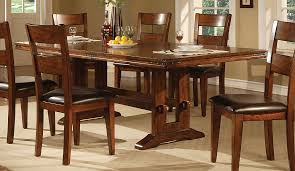 Real Wood Kitchen Table Rustic Simple Pattern Wonderful Simple Solid Oak Dining Room Table