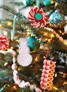 Елочные игрушки на елку сделанные 15