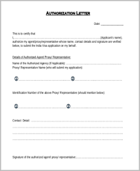 Sample Authorization Letter 11 Free Documents In Word Pdf