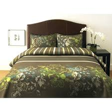 chocolate brown and green duvet covers green and brown bedding on webnuggetzcom brown and lime