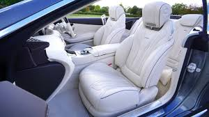 light colored leather interior