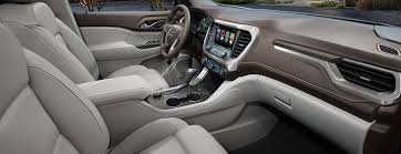 2018 chevrolet acadia. simple 2018 sideview image of the front cabin in 2018 gmc acadia midsize suv and chevrolet acadia