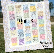 Easy Baby Girl Quilt Kits Quilt Kit Hanky Panky Feedsack ... & Easy Baby Girl Quilt Kits Quilt Kit Hanky Panky Feedsack Reproduction Baby  Girl Crib Quilt Only Adamdwight.com