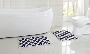 davenport microfiber bath rug set 2 piece