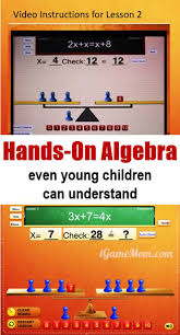 how to help kids learn algebra concepts