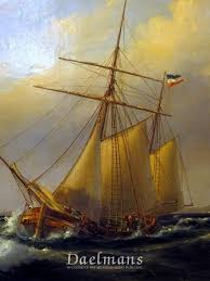 wilhelm melbye danish marine painting ships at sea paintings daelmans