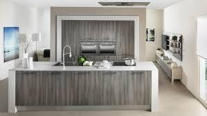 Cuisine Bois Gris Moderne Design De Maison