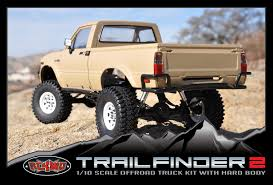 Very Cool looking 1/10 Scale RC Toyota pickup...love that rear ...