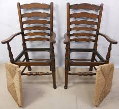 ladder back chairs with rush seats ggregorio